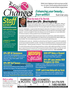 summer cosmetic surgery newsletter